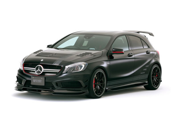 Комплект обвеса Varis (carbon) для Mercedes Benz A class W176 A45