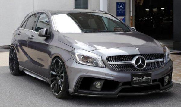 Обвес WALD для Mercedes Benz A class W176