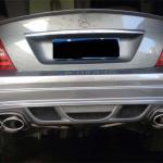 Задний бампер для Mercedes Benz C class W204