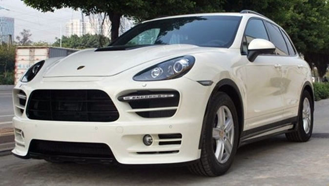 Обвес Hamann narrow body для Porsche Cayenne 958