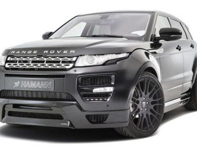 Комплект обвеса Hamann wide body (FRP+PU) для Land Rover Evoque