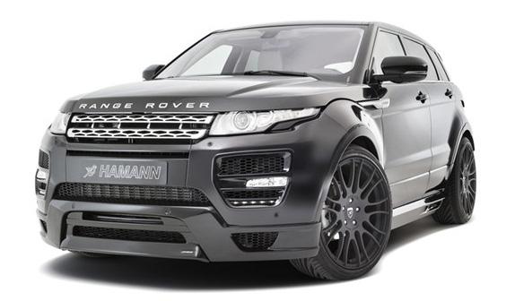 Комплект обвеса Hamann wide body (CF) для Land Rover Evoque