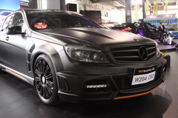 Комплект обвеса Wald для Mercedes Benz C class W204