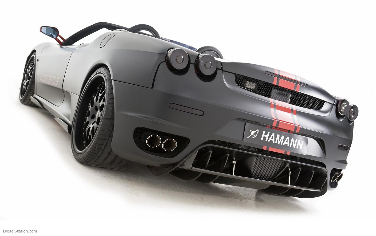 Диффузор на бампер Hamann для Ferrari F430