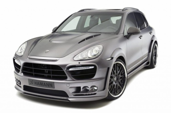 Обвес Hamann wide body для Porsche Cayenne 958