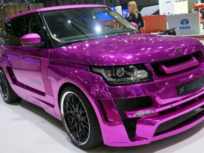 Комплект обвеса Hamann wide body для Land Rover Vogue