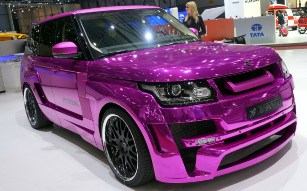 Комплект обвеса Hamann wide body для Land Rover Vogue