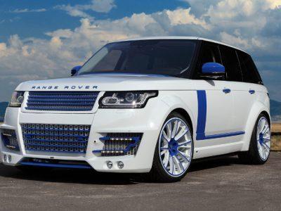 Обвес Lumma wide body (FRP) для Land Rover Vogue