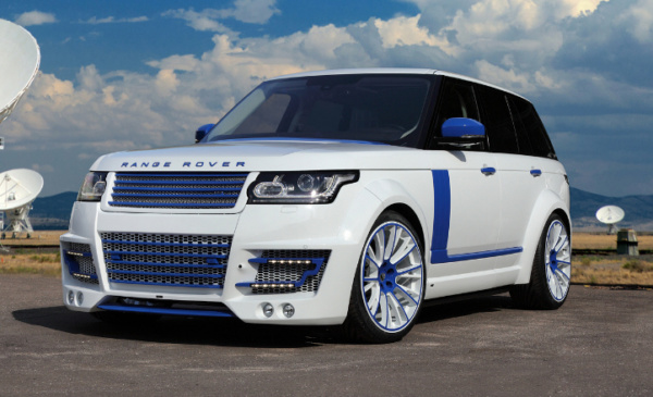 Обвес Lumma wide body (1/2 CF) для Land Rover Vogue