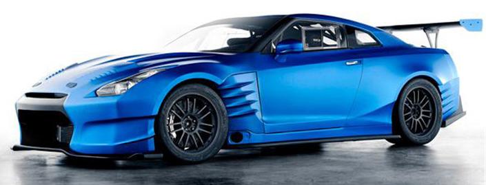 Комплект обвеса Bensopra (FRP) для Nissan GTR R35