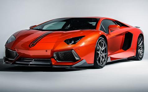 Комплект обвеса Vorsteiner для Lamborghini LP700