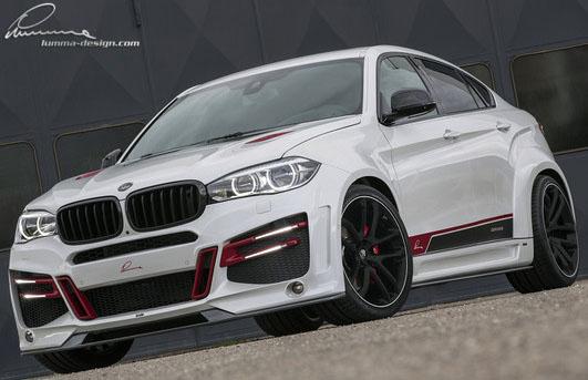 Комплект обвеса Lumma для BMW X6 F16
