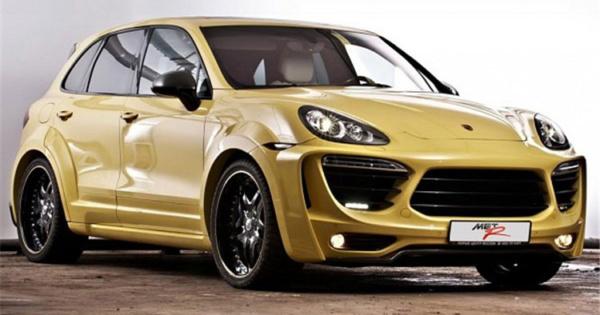 Обвес MET-R wide body для Porsche Cayenne 958