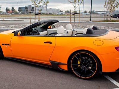 Спойлер на задний бампер DMC для Maserati GTS