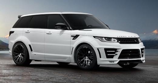 Комплект обвеса Lumma wide body для Land Rover Sport