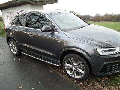 Боковые подножки для Audi Q3 (8U)