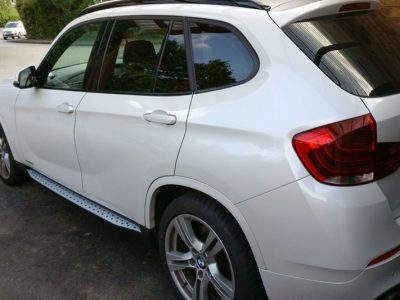 Боковые подножки/пороги BMW X1 E84 (2009-up)