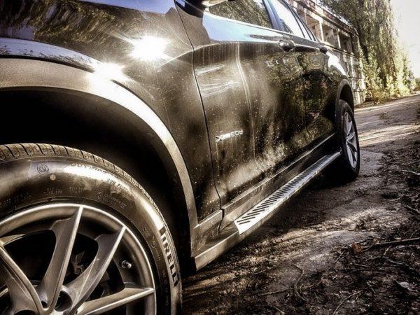 Подножки/пороги для BMW X4 F26 (2014-up)