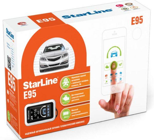Автосигнализация StarLine E95 BT / сигнализация Старлайн Е95 ВТ