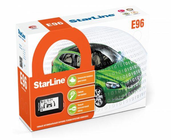 Автосигнализация StarLine E96 BT / Сигнализация Старлайн Е96 ВТ