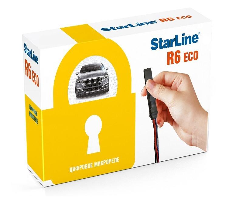 Реле Starline R6 Eco /Цифровое реле Старлайн Р6 Еко