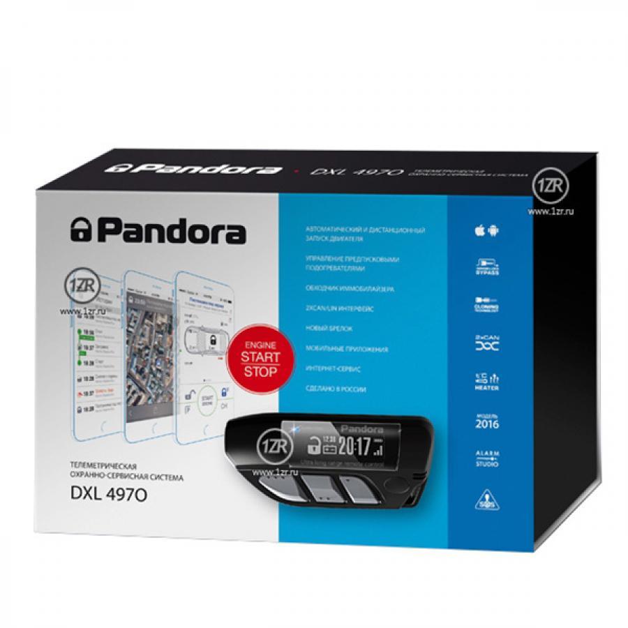 Автосигнализация Pandora DXL 4970 / Сигнализация Пандора дхл 4970 Про