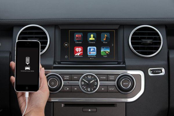 Мультимедийный интерфейс на Android 5.1 для Land Rover Discovery