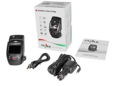 Видеорегистратор с GPS Gazer F150g