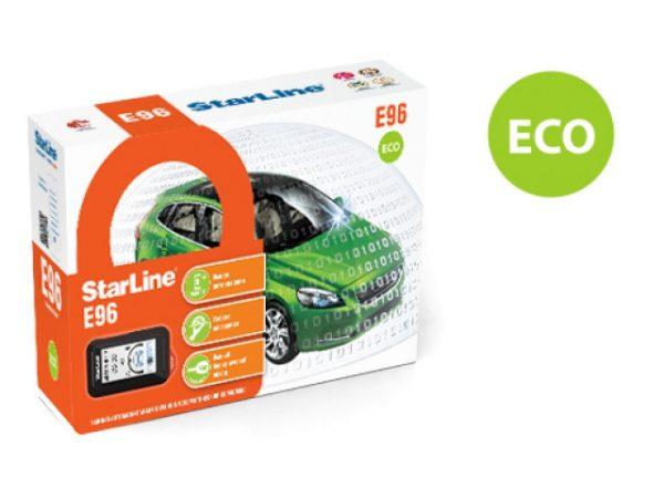 Автосигнализация StarLine E96 eco / Сигнализация Старлайн Е96 еко