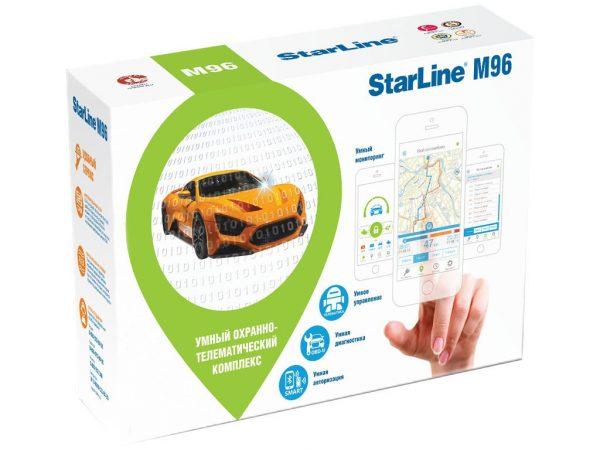 Автосигнализация Starline M96 M / Микросигнализация Старлайн М96 М