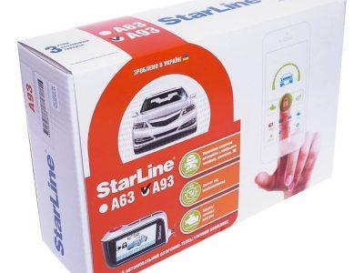 Сигнализация StarLine A63 / Автосигнализация Старлайн А63