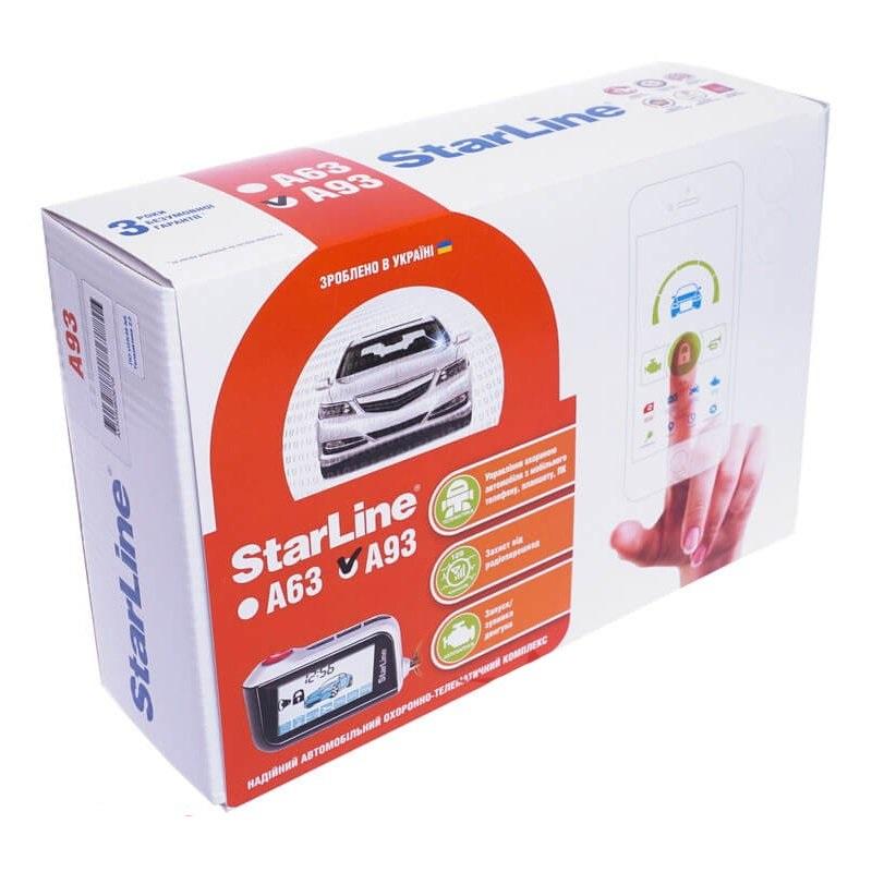 Автосигнализация StarLine A93 eco / Сигнализация Старлайн А93 Еко