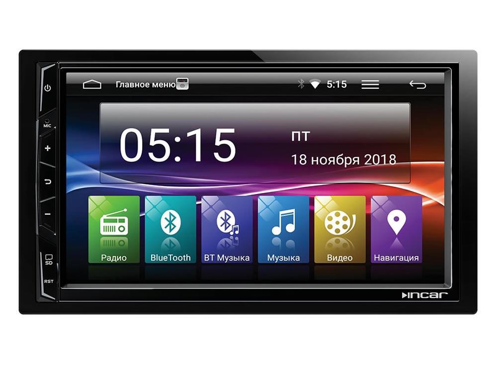 Штатная магнитола Hyundai Santa Fe 2006-2012 INCar MK-1010