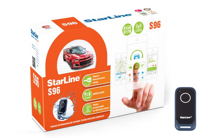 Автосигнализация StarLine S96 BT / Сигнализация Старлайн С96