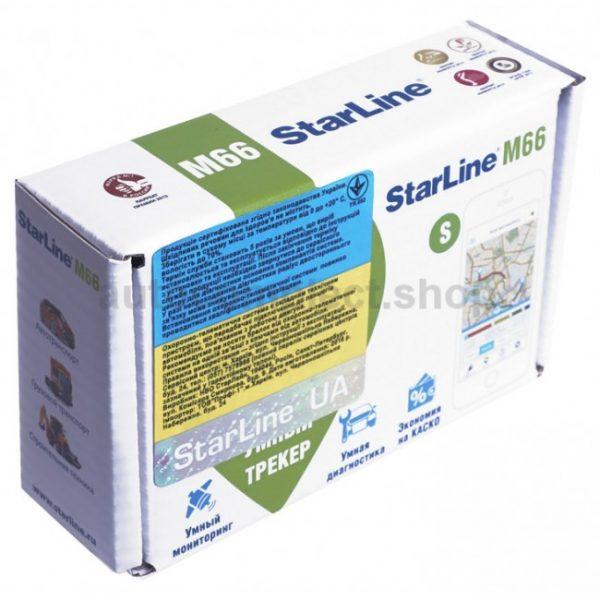 GPS трекер с метками Starline M66-M