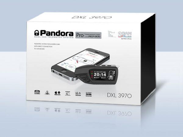 Автосигнализация Pandora DXL 3970 / Сигнализация Пандора дхл 3970 Про