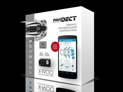Автосигнализация Pandect X-1900 3G / Микросигнализация Пандект 1900