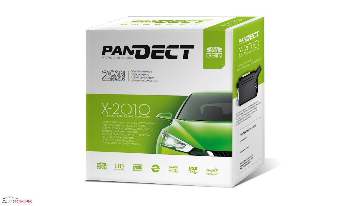 Автосигнализация Pandect X-2010 / микросигнализация Пандект Х-2010