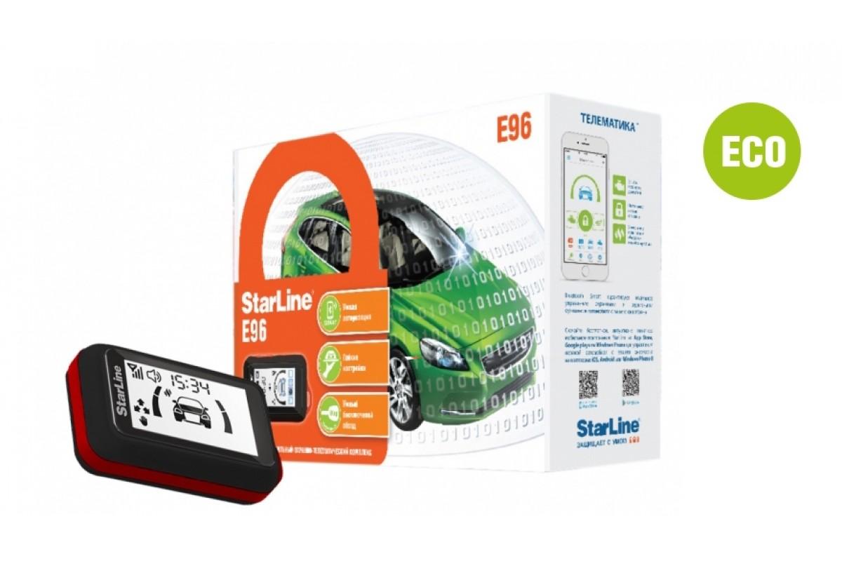 Автосигнализация StarLine E66 eco / Сигнализация Старлайн Е66 еко