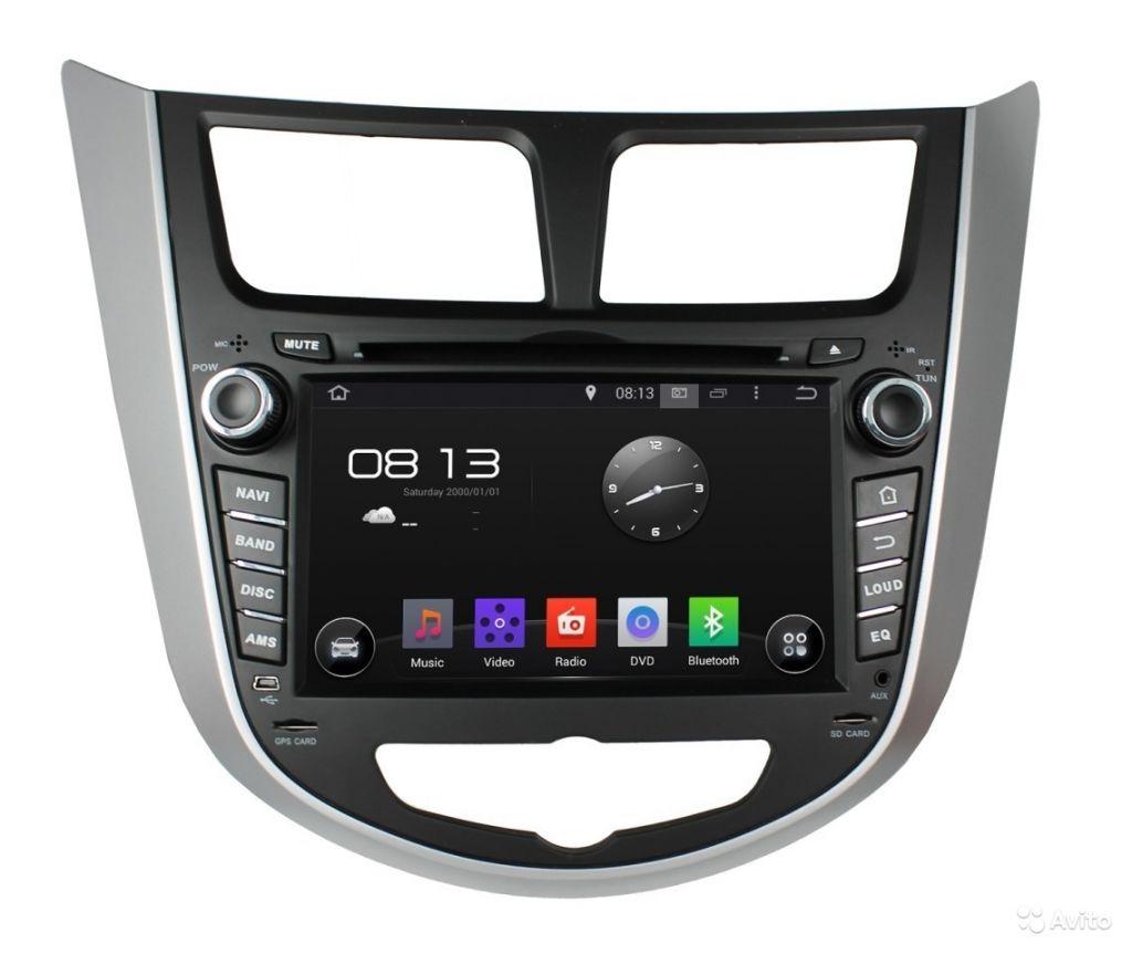Штатная магнитола Hyundai Accent 2011+ INCar AHR-2487