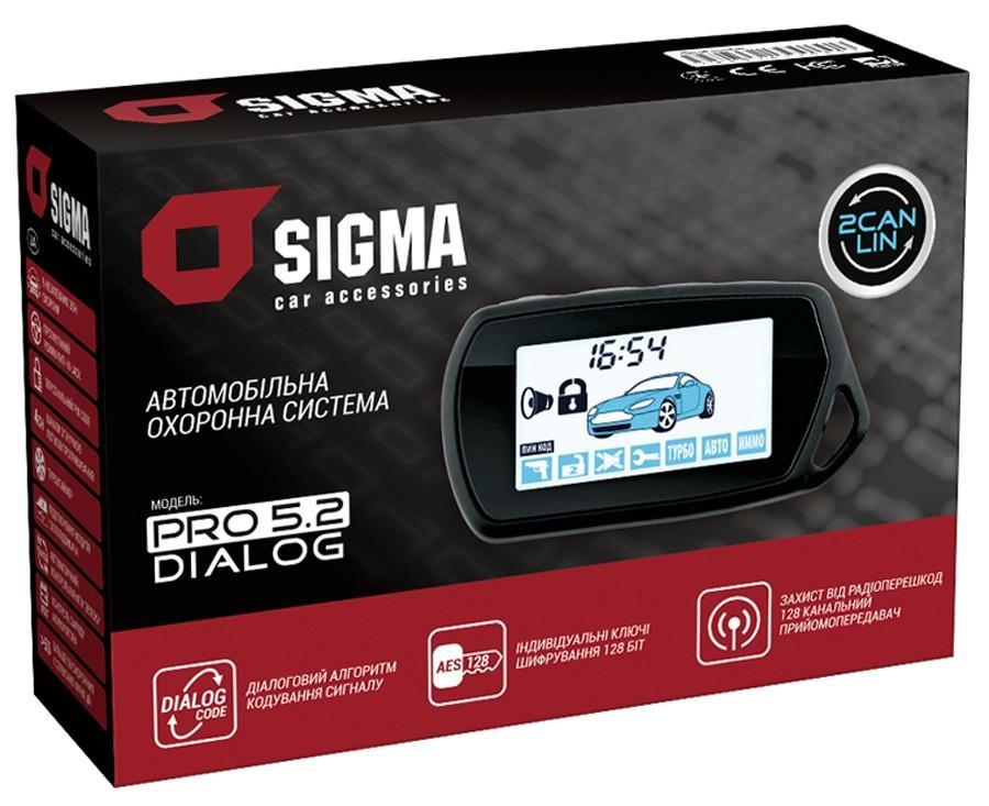 Автомобильная охранная система SIGMA PRO 5.2 CAN