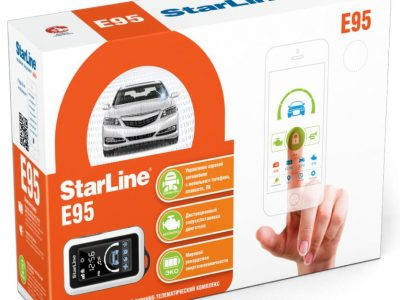 Автосигнализация StarLine E95 BT GSM / Сигнализация Старлайн Е95 ВТ ЖСМ