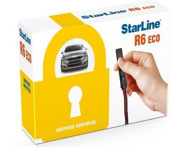 Реле Starline R6 Eco / Цифровое реле Старлайн Р6 Еко