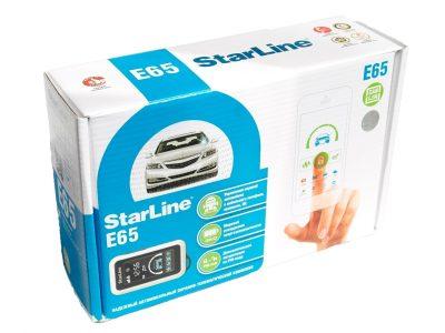 Автосигнализация StarLine E65 BT / Сигнализация Старлайн е65