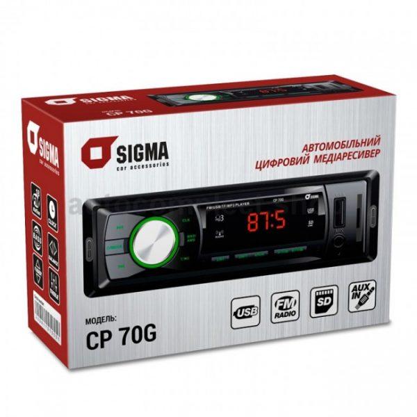 Магнитола Sigma CP-70