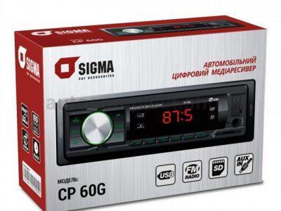 Автомобильная магнитола Sigma CP-60