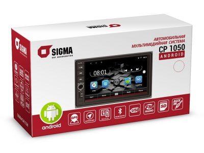 Универсальная магнитола Sigma CP-1050