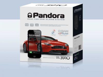 Автосигнализация Pandora DXL 3910 / Сигнализация Пандора дхл 3910 Про