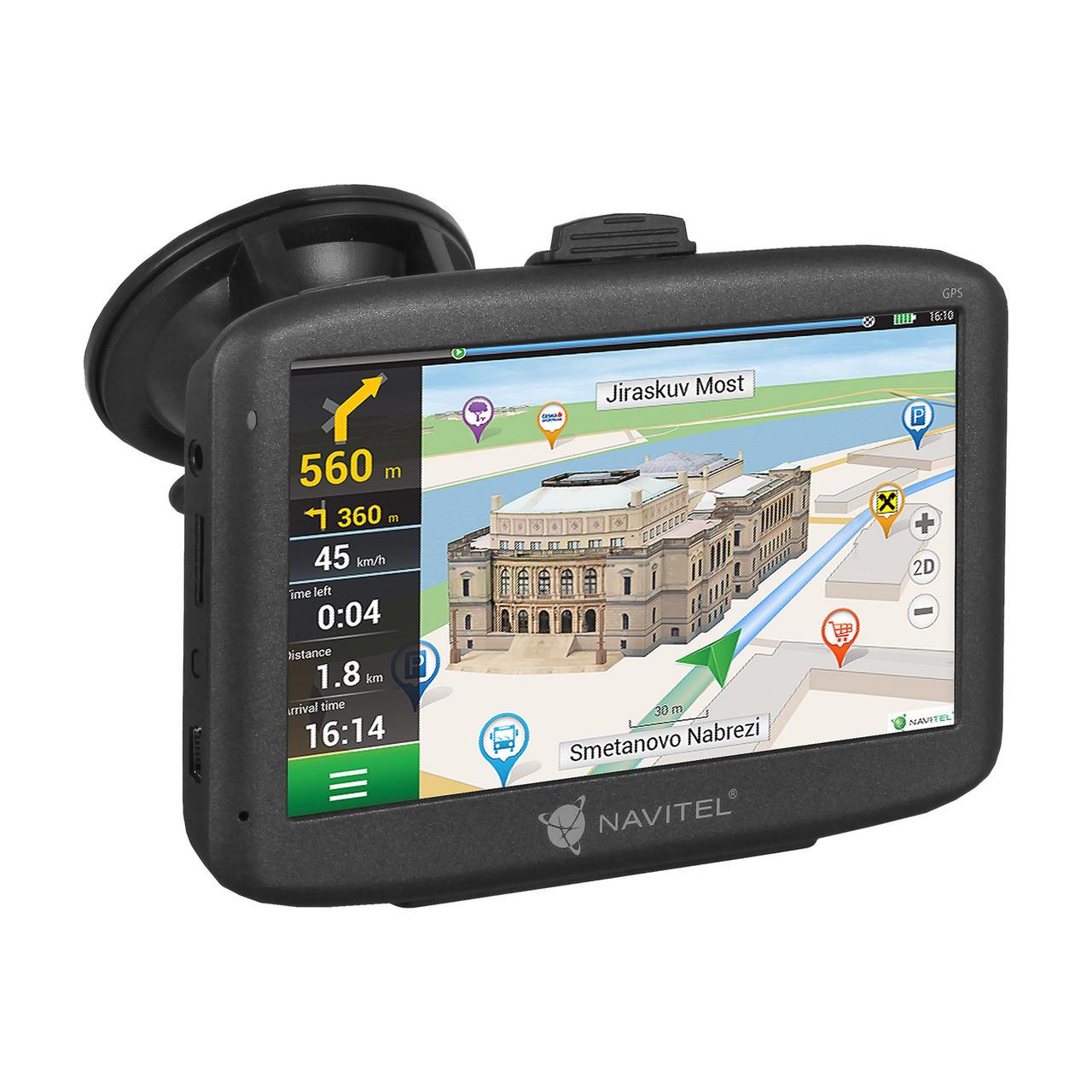 Автомобильный навигатор NAVITEL E500