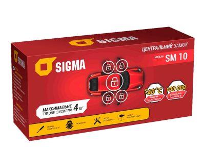 Центральный замок на 4 двери Sigma SM 10